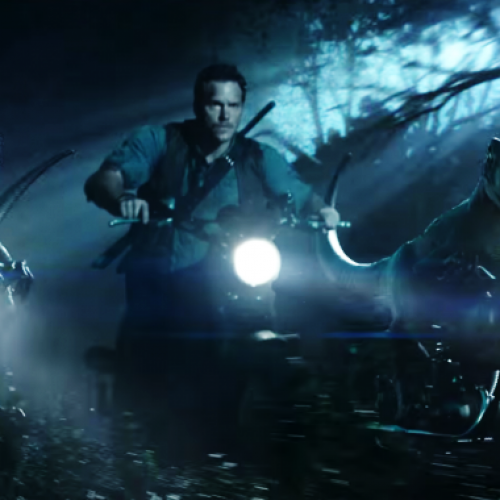 Chris Pratt's raptor pack names revealed in new Jurassic World TV spot