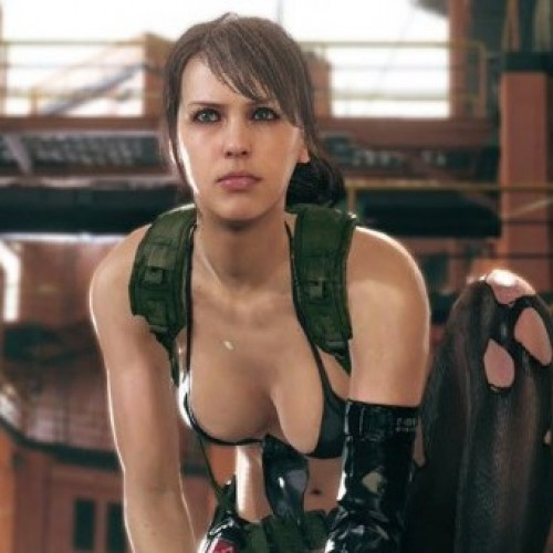 Play with Quiet from Metal Gear Solid V: The Phantom Pain