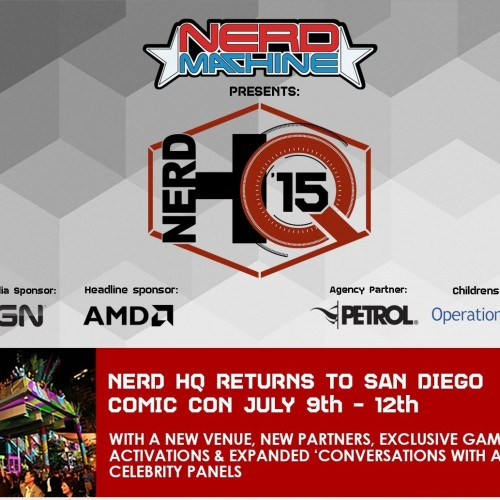 Nerd HQ heads to the New Children's Museum for San Diego Comic-Con