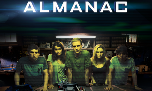 Interviewing the Project Almanac cast, plus drones!