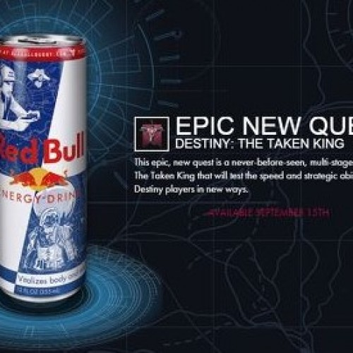 Activision and Red Bull partnership causes more grief among Destiny players