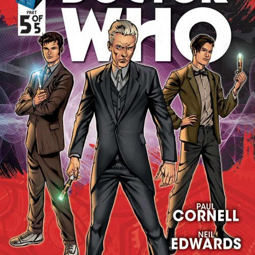 Titan Comics: New trailer for Doctor Who: Four Doctors comic series