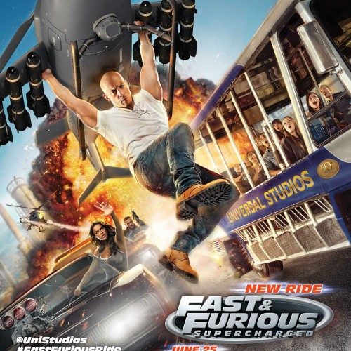 We test out Universal Studios' Fast & Furious: Supercharged: The Ride
