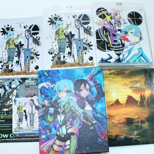 Sword Art Online II – Phantom Bullet Part 1- Limited Edition Review