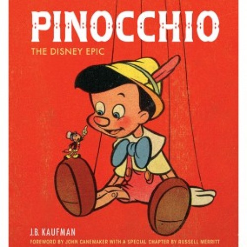 Giveaway – PINOCCHIO: The Making of the Disney Epic book