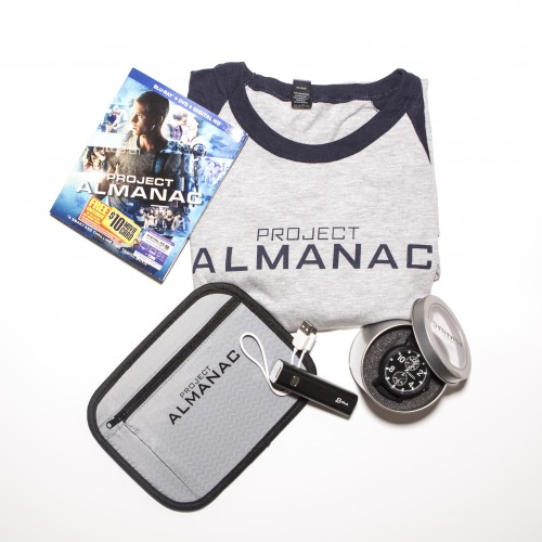 Giveaway: Project Almanac Blu-ray Prize Package