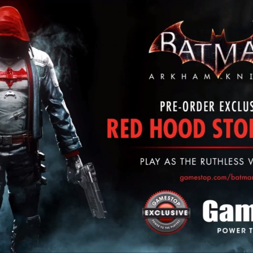Batman: Arkham Knight Red Hood trailer