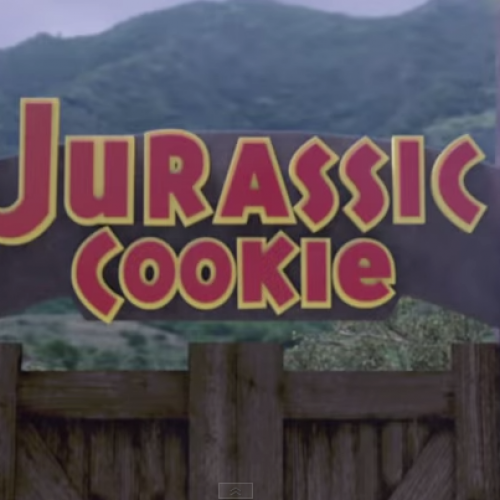 Sesame Street parodies Jurassic Park called 'Jurassic Cookie'