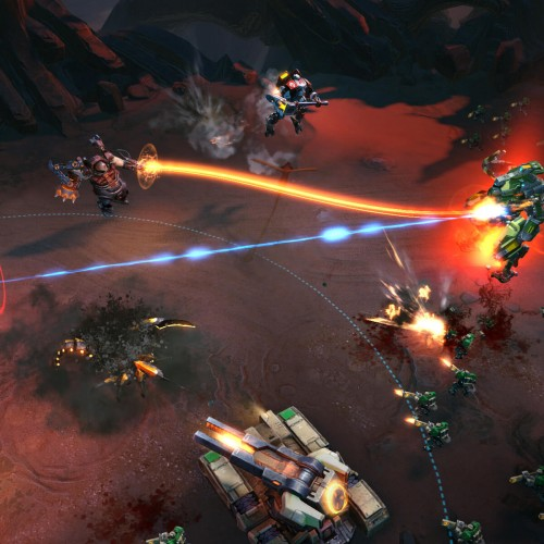 E3 2015: Supernova mashes together MOBA and RTS