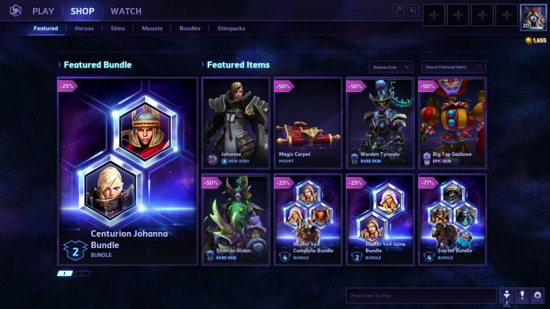 heroes of the storm how to get more gold