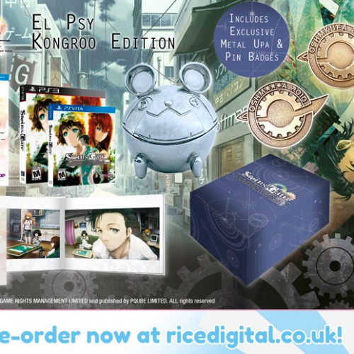 Steins;Gate coming to North America on August 25 at Rice Digital