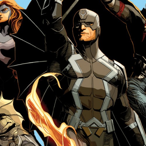 Uncanny Inhumans #1 cover reveals Human Torch and Beast in the roster