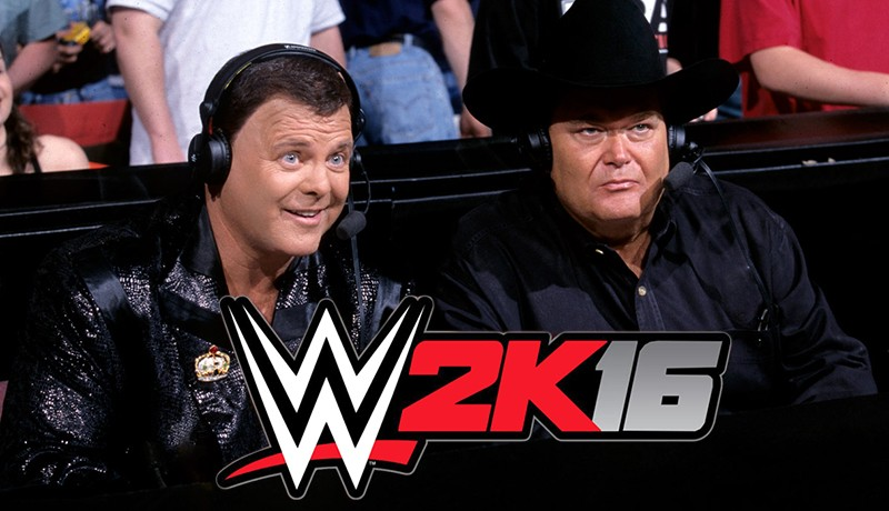WWE 2k16 JR and Jerry the king lawler