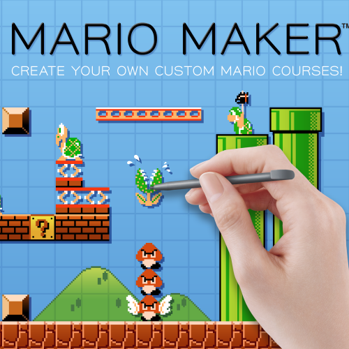 Super Mario Maker may not need the internet to have fun?