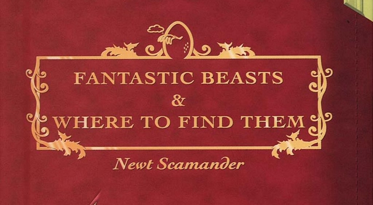 Fantastic Beasts and Where to Find Them // Book Cover