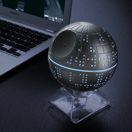 Jam out Empire-style with Death Star Bluetooth speaker