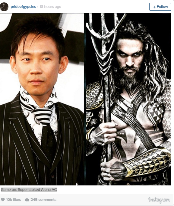 james wan jason momoa aquaman