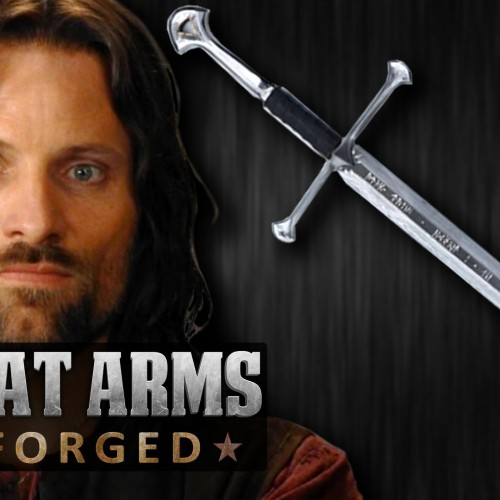 Man at Arms: Reforged does Aragorn's sword from Lord of the Rings