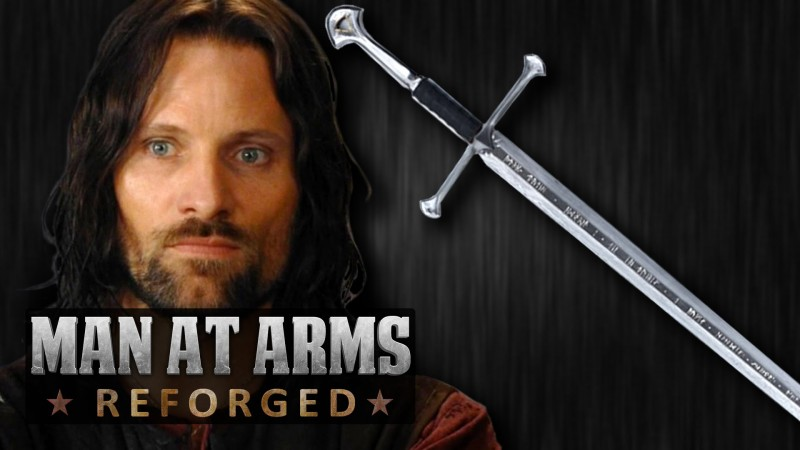 lord of the rings man at arms