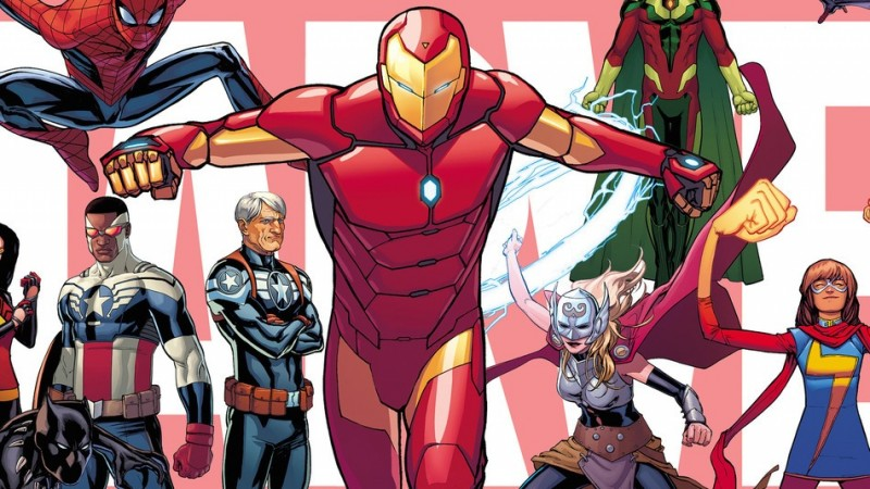 marvel new characters iron man thor captain america