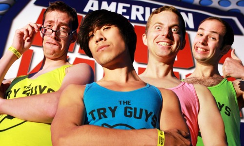 Buzzfeed's Try Guys come to Anime Expo 2015