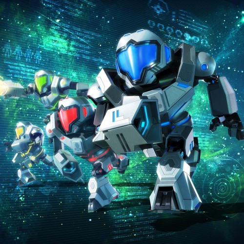 Watch 7 minutes of Metroid Prime: Federation Force gameplay