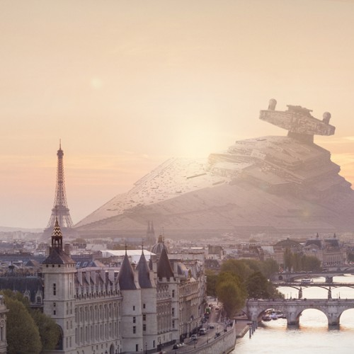 A world filled with crashed Star Wars ships