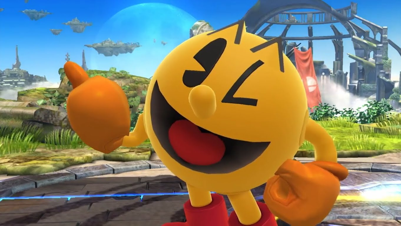 Pac Man S Newest Glitch In Super Smash Bros Pulls The