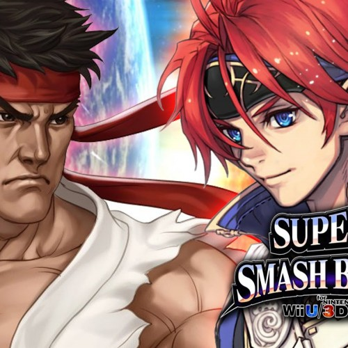 Ryu and Roy bring the heat to Super Smash Bros.