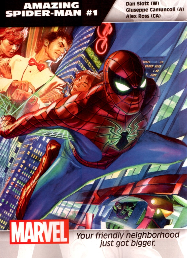 spider-man cover all new
