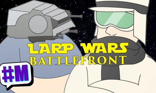 If Star Wars Battlefront had LARPers (video)