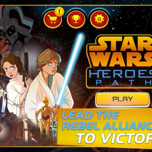 Experience 'Star Wars: Episode IV A New Hope' with the Star Wars – Heroes Path app!