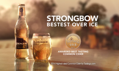 Strongbow's Patrick Stewart commercials are all we need