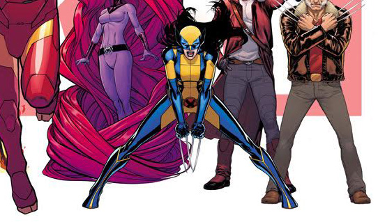 this is marvel female wolverine