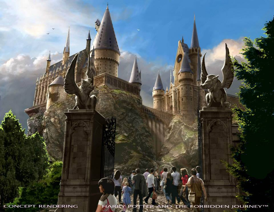 universal studios hollywood Harry Potter and the Forbidden Journey