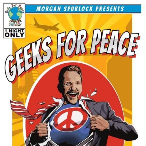 Party with 'Geeks for Peace' to benefit 'Kids for Peace' during SDCC!