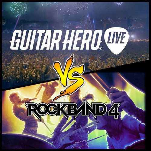 E3 2015: Rock Band 4 vs. Guitar Hero Live