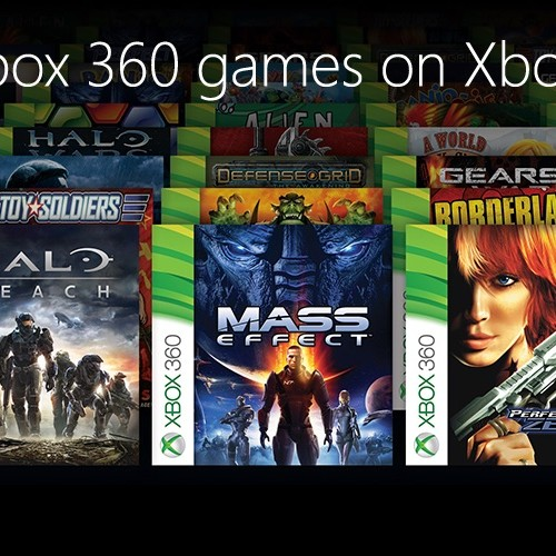E3 2015: Current Xbox 360 titles you can play on Xbox One