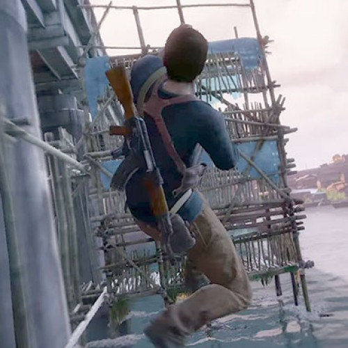 E3 2015: Watch Nathan Drake destroy a village in the Uncharted 4: A Thief's End gameplay demo