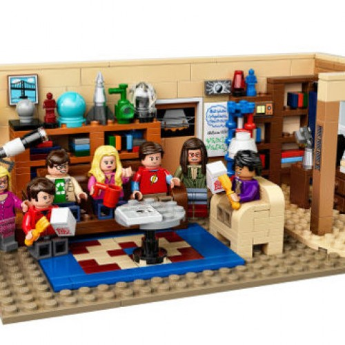 Brickzinga! Lego Big Bang Theory!