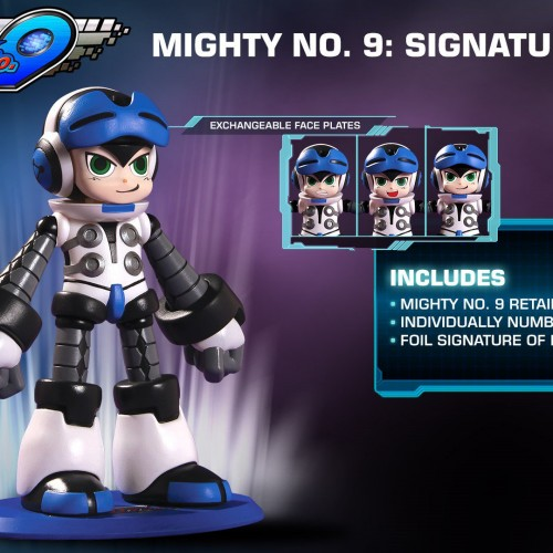 Comcept and Deep Silver announce The Mighty No. 9: Signature Edition