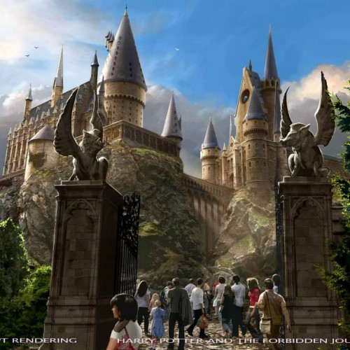The Wizarding World of Harry Potter at Universal Studios Hollywood gets a teaser and concept renderings