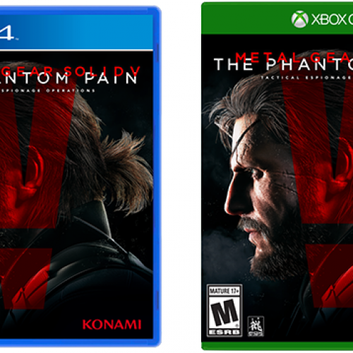 Konami removes Kojima from Metal Gear Solid V: The Phantom Pain cover
