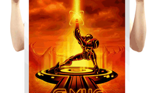 Super Smash Bros. meets Tron with Flynn's design t-shirts and posters