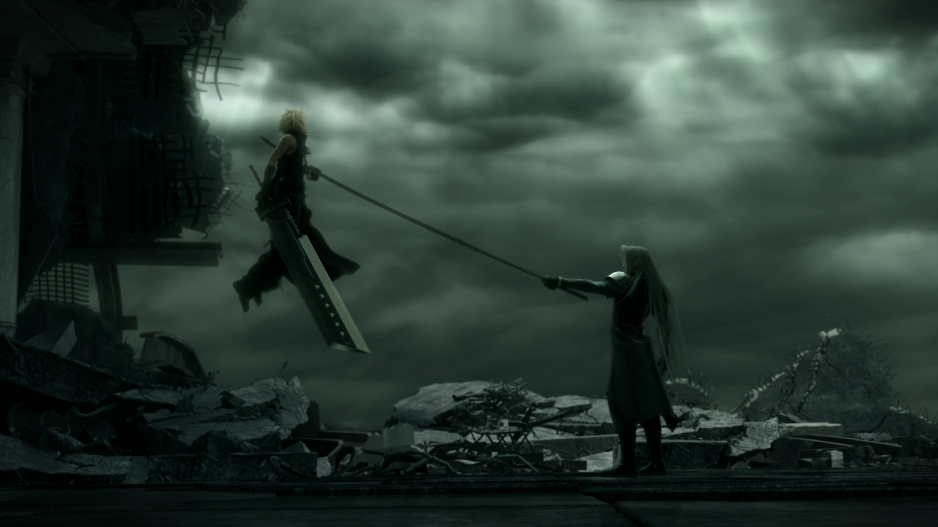 ff7 advent children bahamut - photo #37