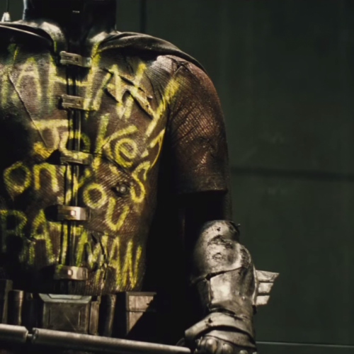 Is Zack Snyder's son playing Robin in Batman v Superman?
