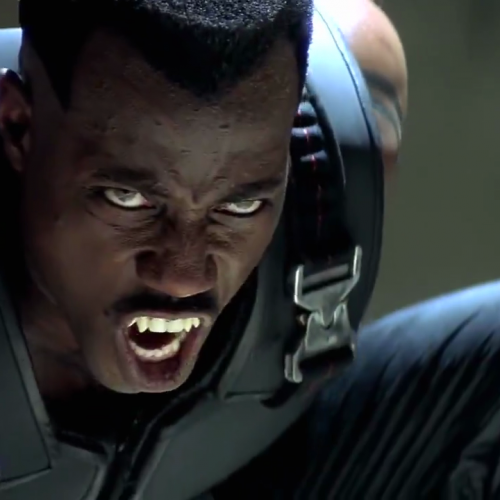 Wesley Snipes had a meeting with Marvel Studios about Blade