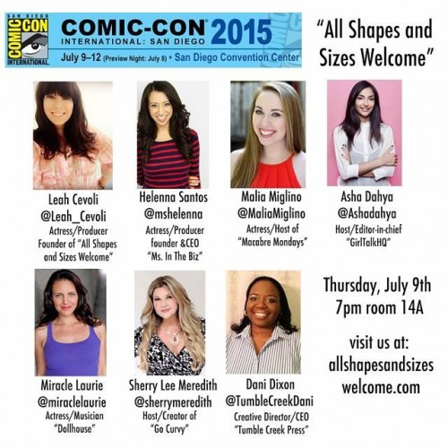 SDCC 2015: All Shapes and Sizes Welcome returns to Comic-Con