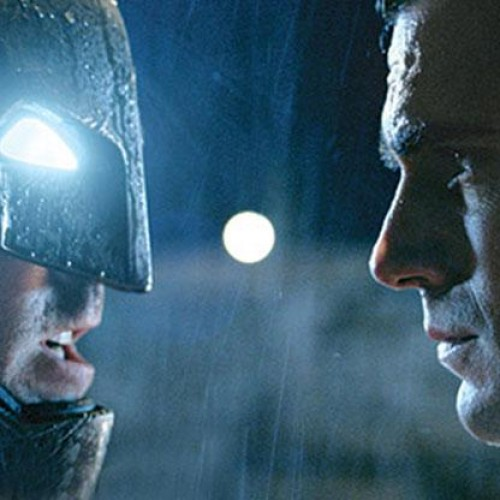 Check out EW's Batman v Superman pics featuring the trinity, Lex Luthor and more