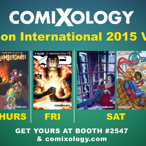 SDCC 2015: ComiXology 'Take Comics Further' full Comic-Con schedule